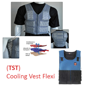 Cooling Vest India Tst Cooling Vest Flexi Garments Mumbai